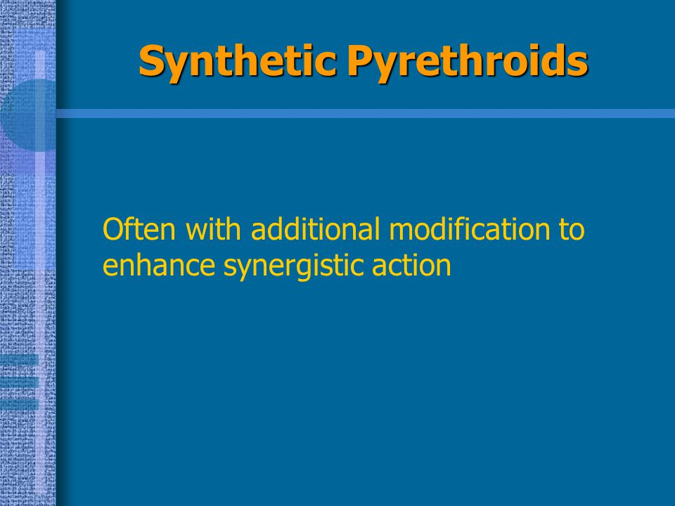 Synthetic Pyrethroids