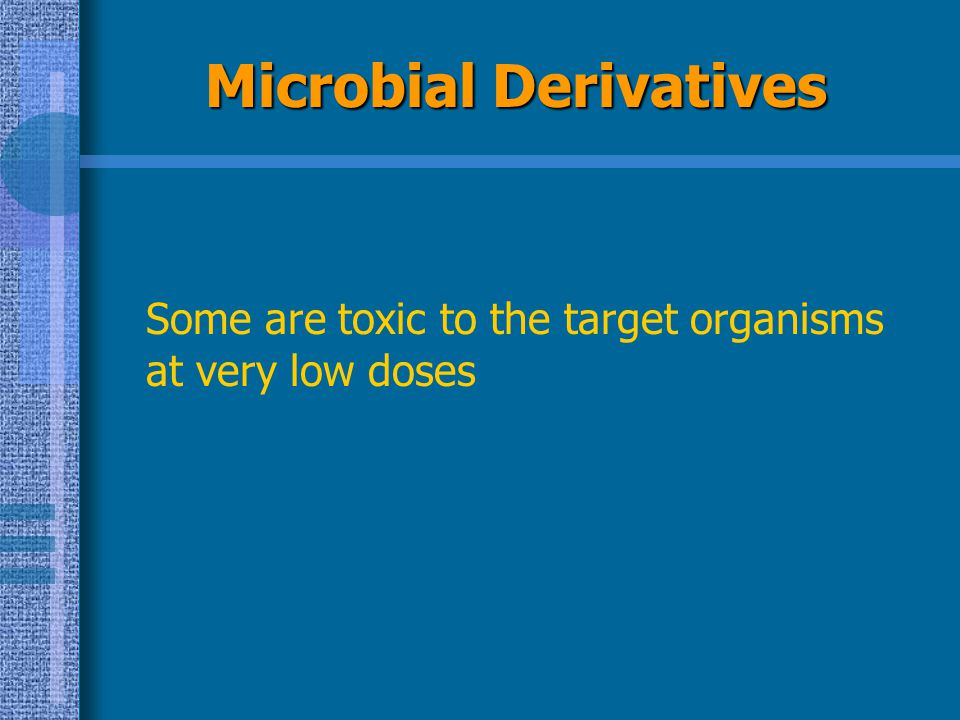 Microbial Derivatives