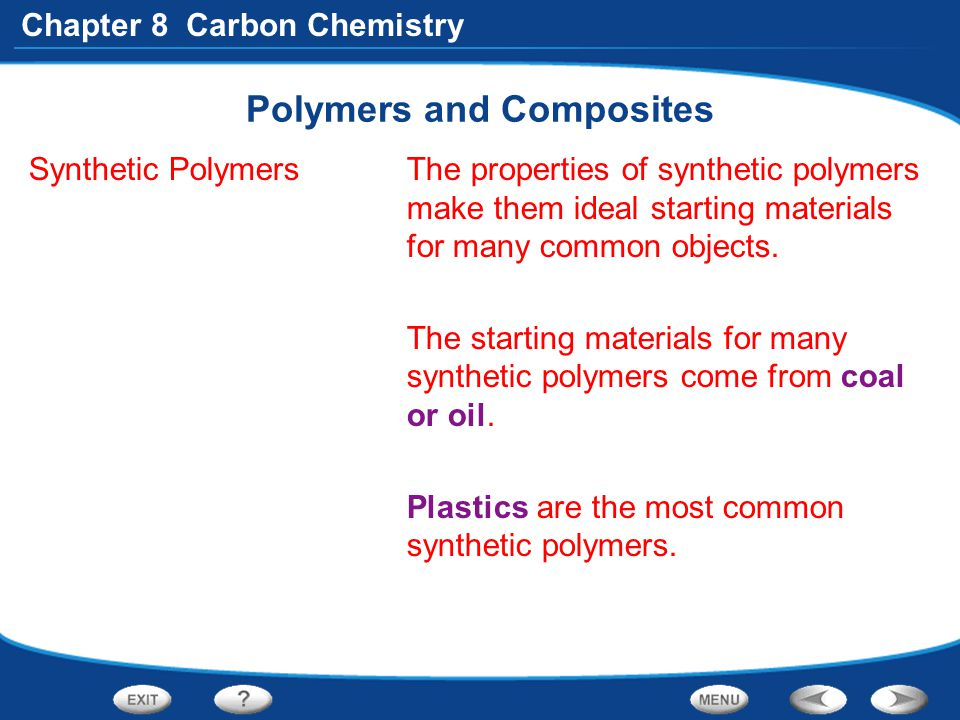 Polymers and Composites