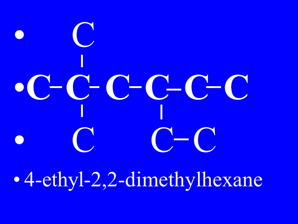 C C C C C C C C C C 4-ethyl-2,2-dimethylhexane