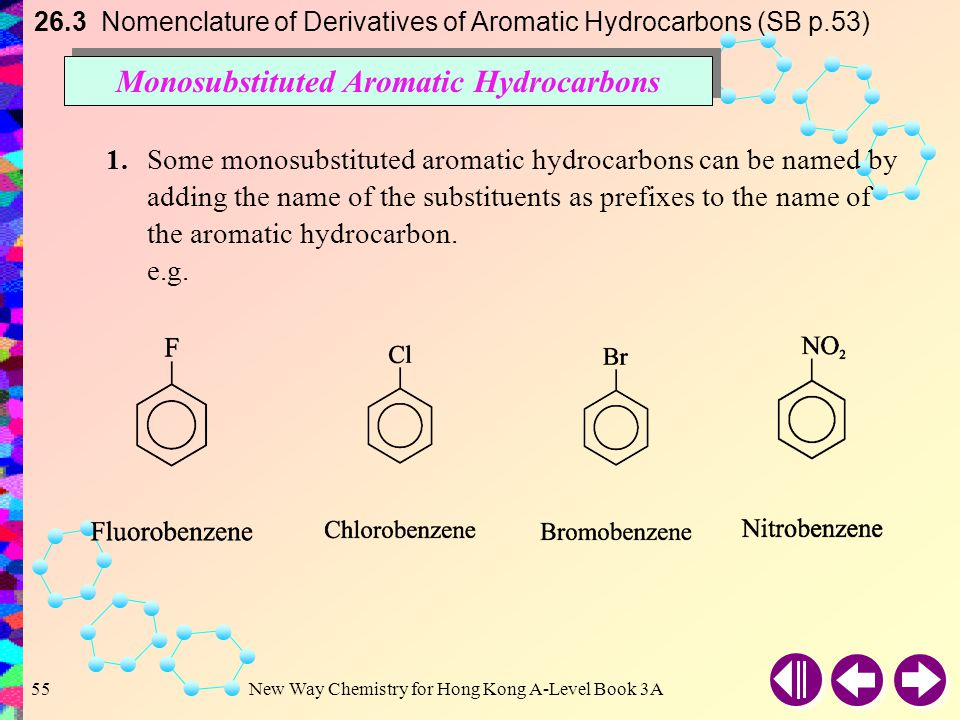 Monosubstituted Aromatic Hydrocarbons