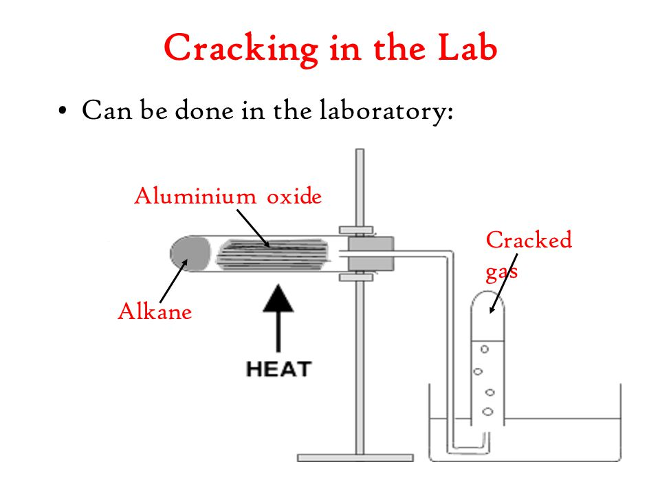 Cracking in the Lab Can be done in the laboratory: Aluminium oxide