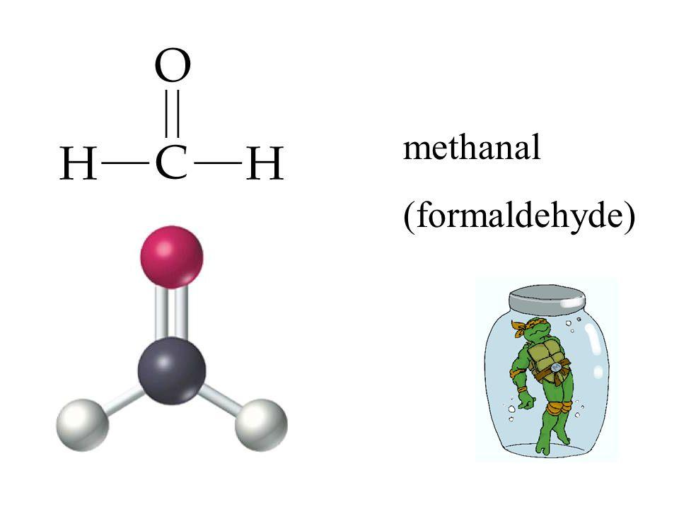 methanal (formaldehyde)