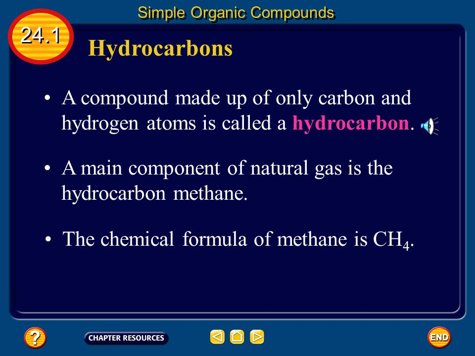 Simple Organic Compounds