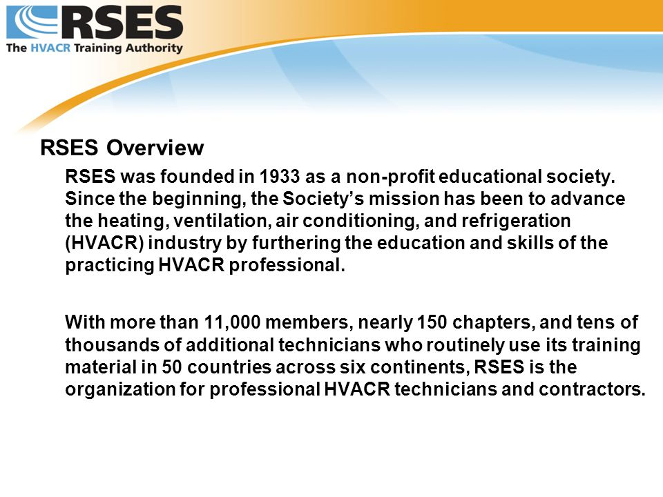 RSES Overview