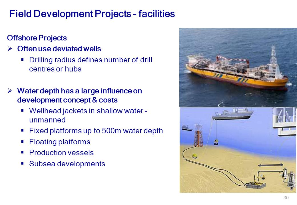 Field Development Projects – facilities