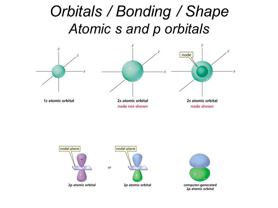 Orbitals / Bonding / Shape