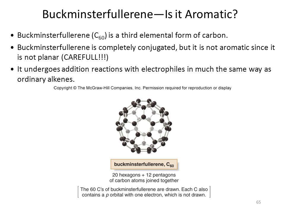 Buckminsterfullerene—Is it Aromatic