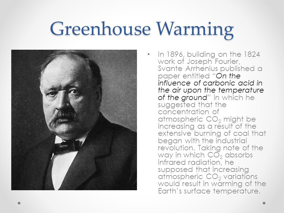Greenhouse Warming