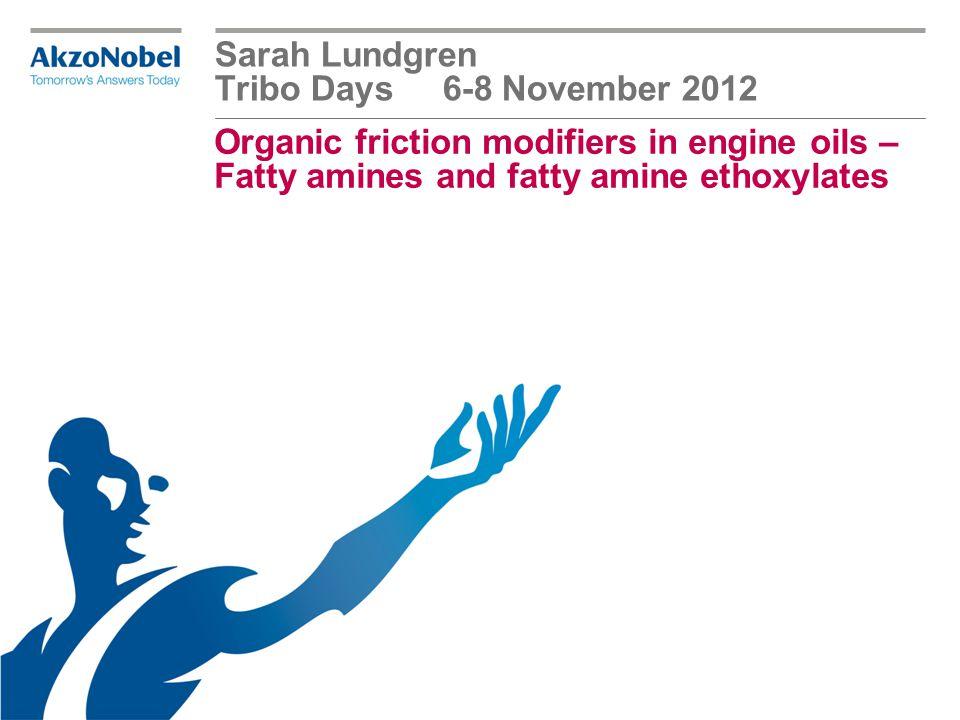 Sarah Lundgren Tribo Days 6-8 November 2012