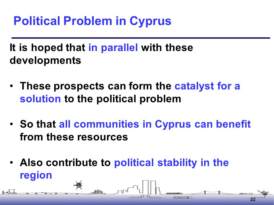 Political Problem in Cyprus