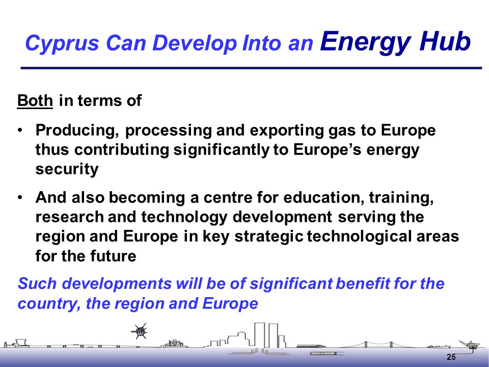 Cyprus Can Develop Into an Energy Hub