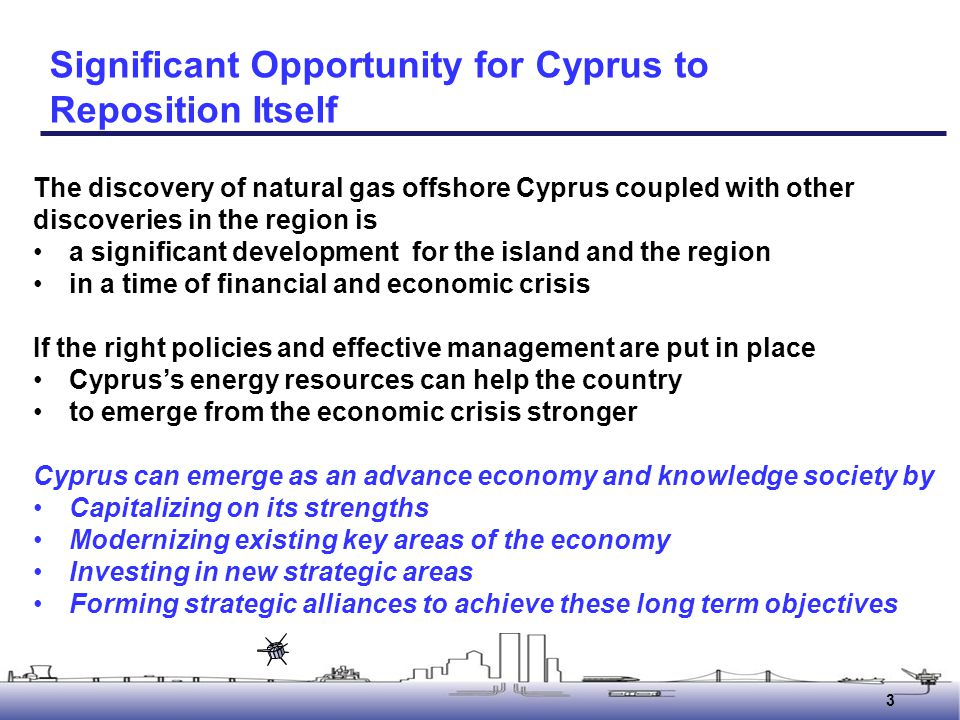Significant Opportunity for Cyprus to Reposition Itself