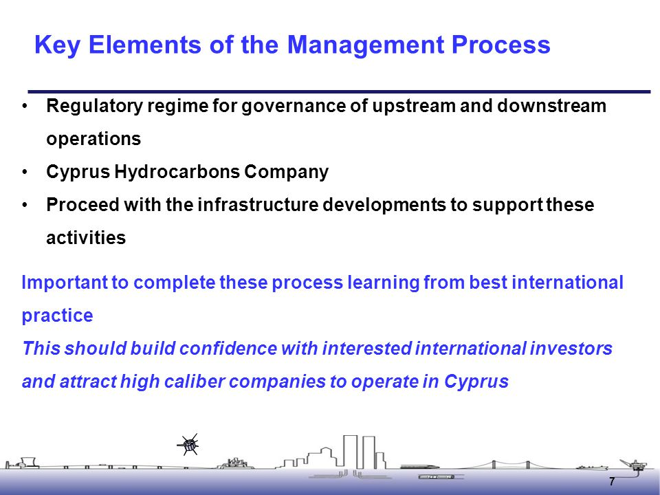 Key Elements of the Management Process