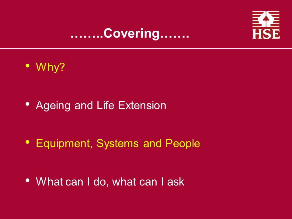 ……..Covering……. Why Ageing and Life Extension
