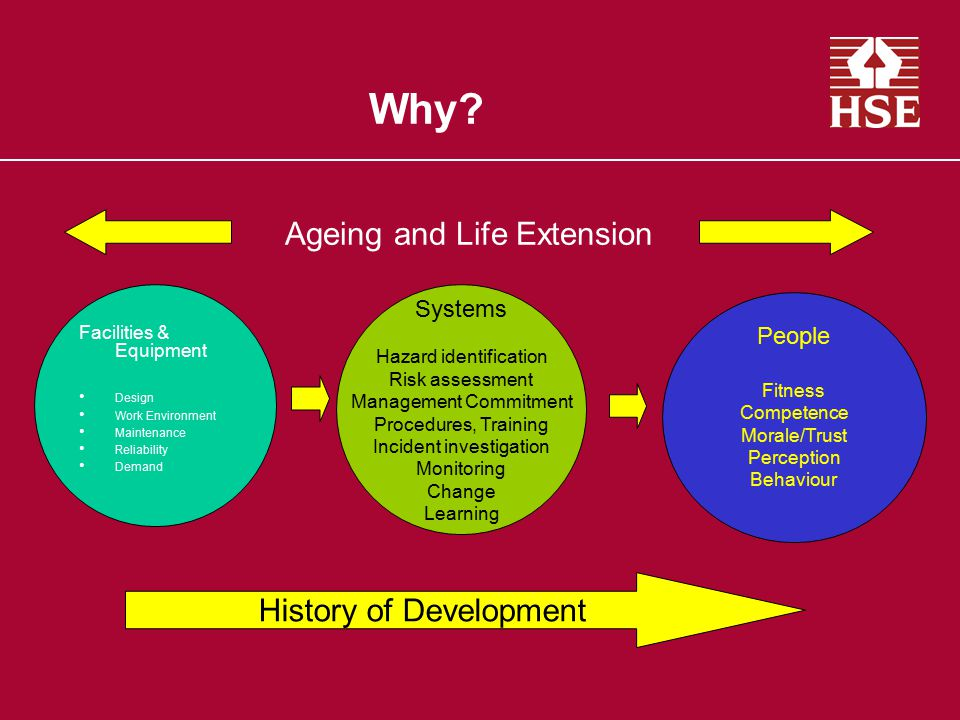 Why Ageing and Life Extension History of Development Systems People
