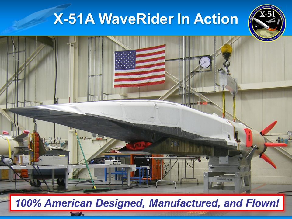 X-51A WaveRider In Action
