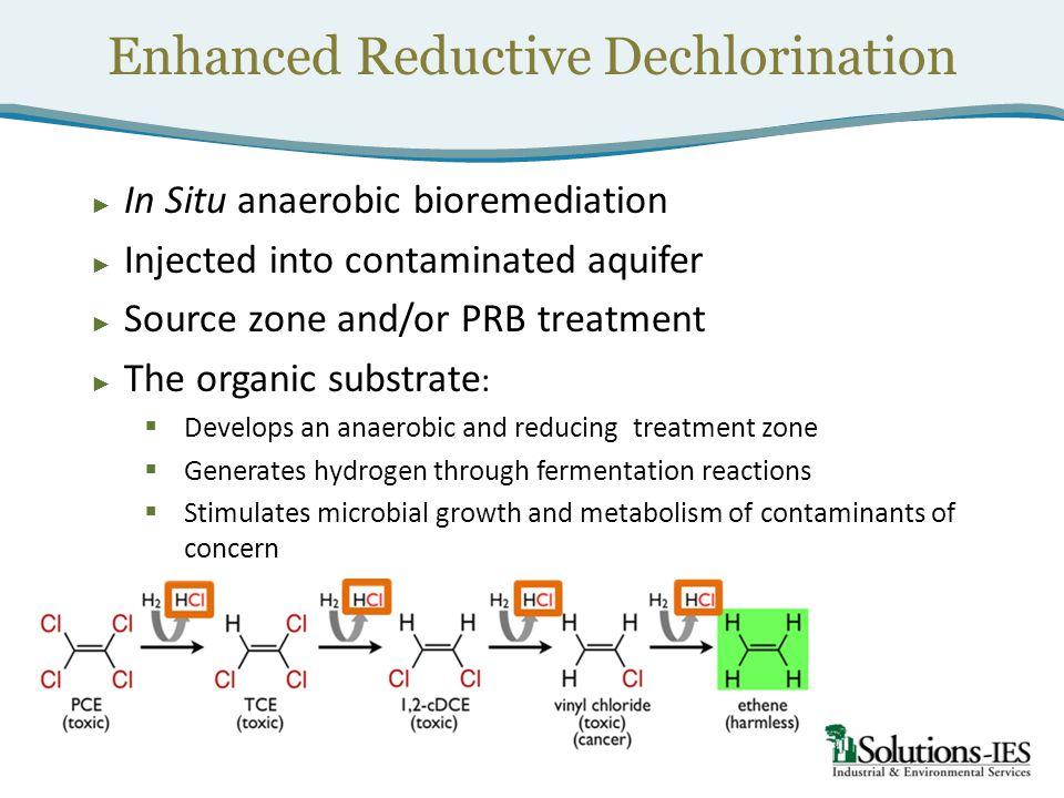 Enhanced Reductive Dechlorination