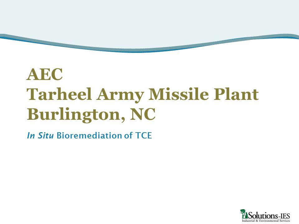 AEC Tarheel Army Missile Plant Burlington, NC