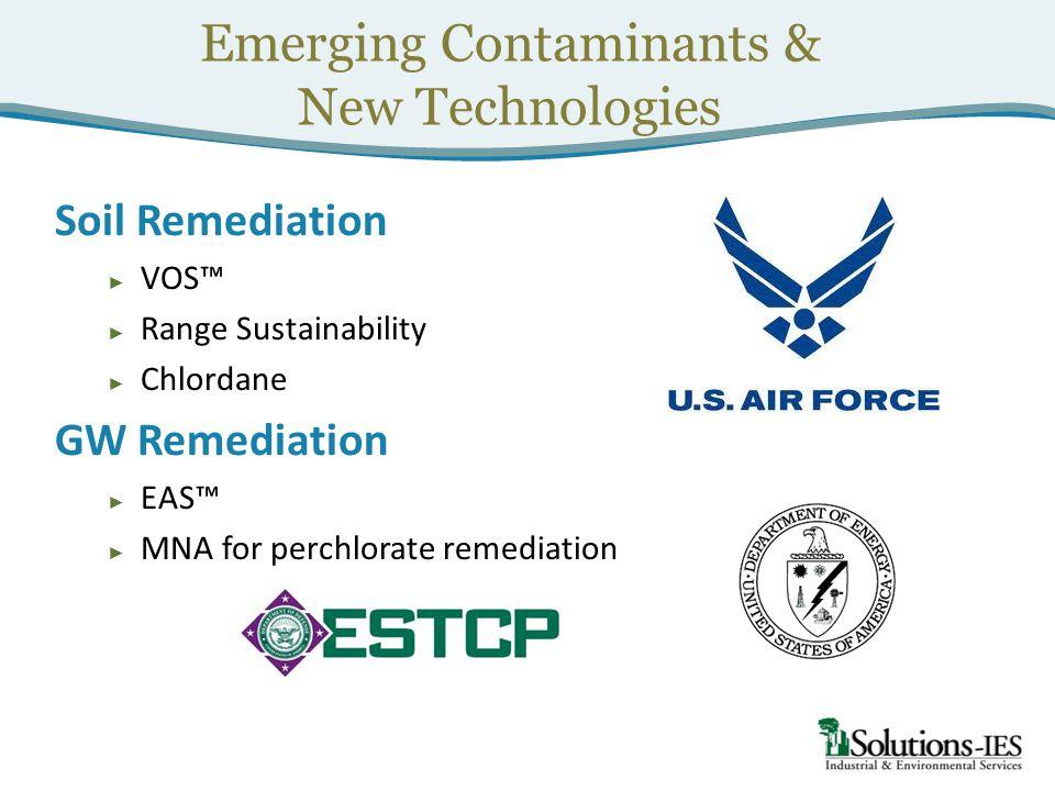 Emerging Contaminants &