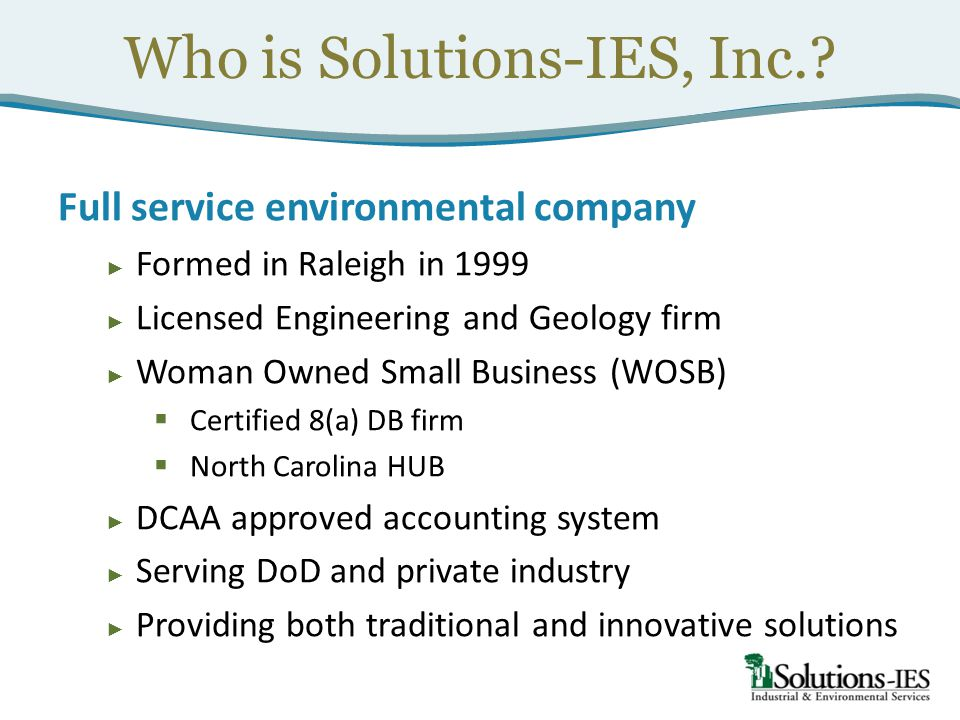 Who is Solutions-IES, Inc.