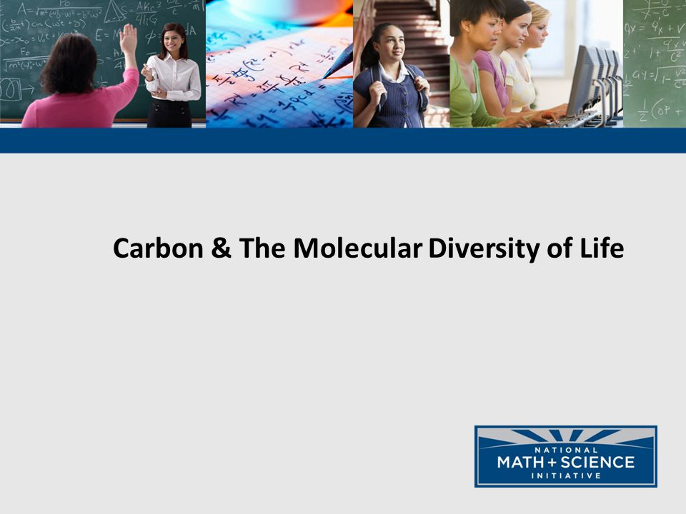 Carbon & The Molecular Diversity of Life