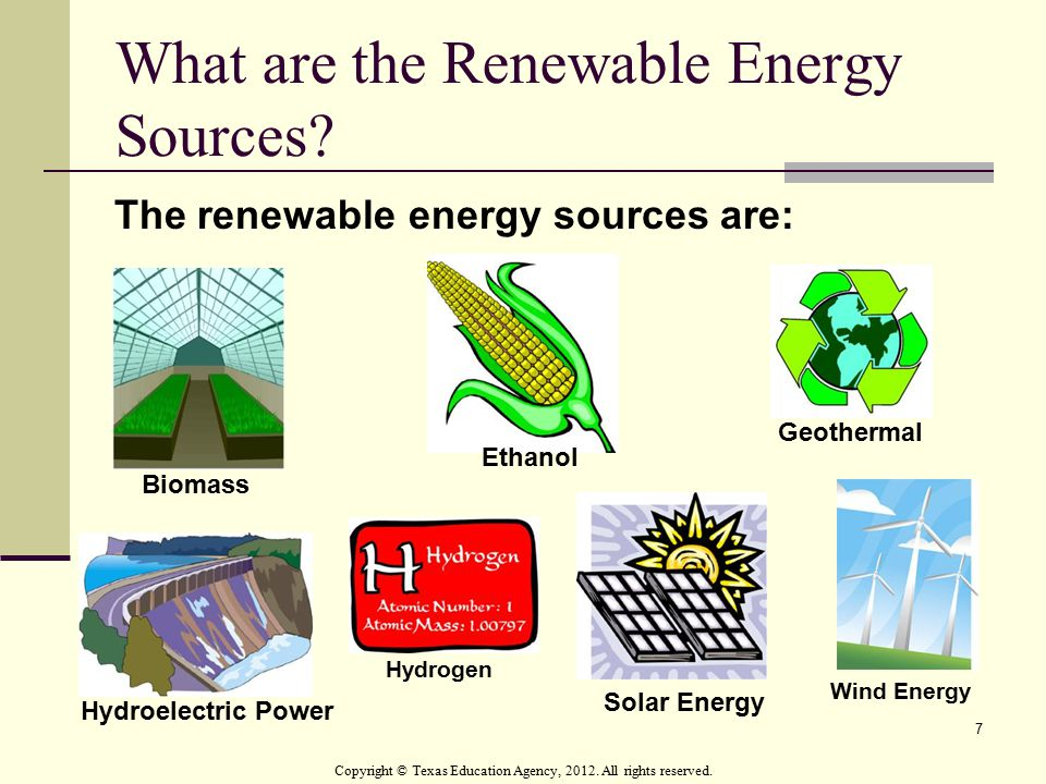 What are the Renewable Energy Sources