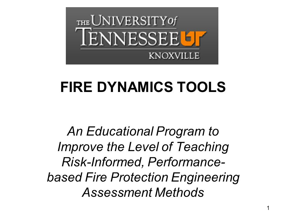 FIRE DYNAMICS TOOLS