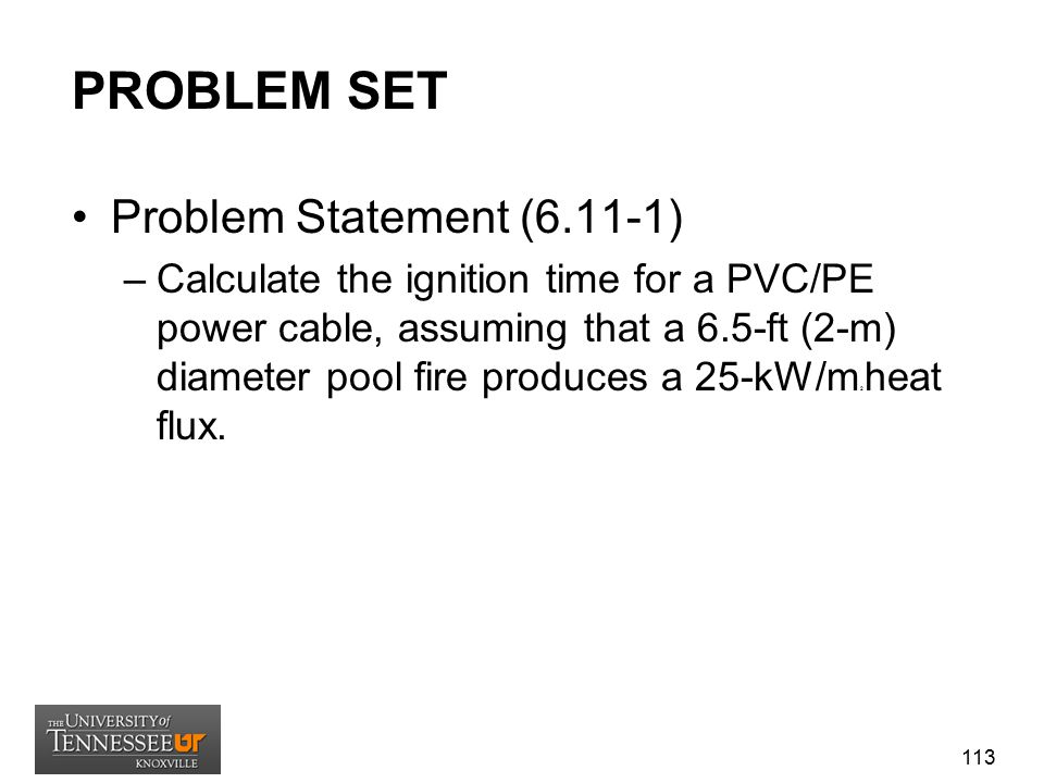 PROBLEM SET Problem Statement (6.11-1)