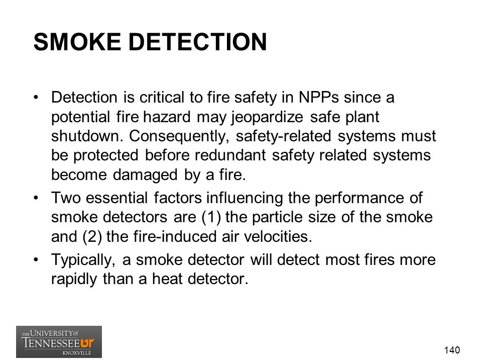SMOKE DETECTION