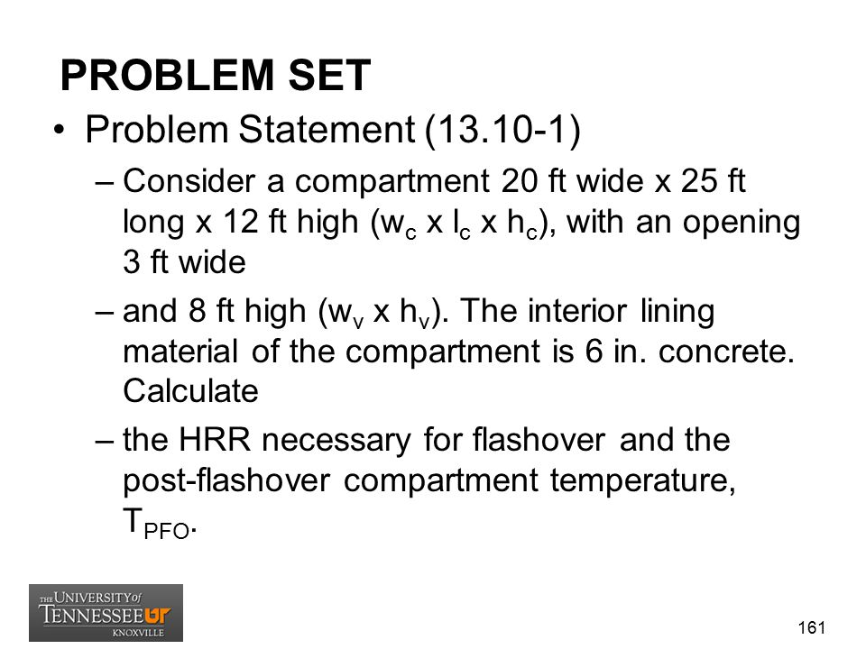 PROBLEM SET Problem Statement (13.10-1)