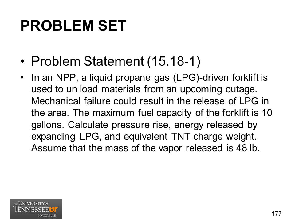 PROBLEM SET Problem Statement (15.18-1)