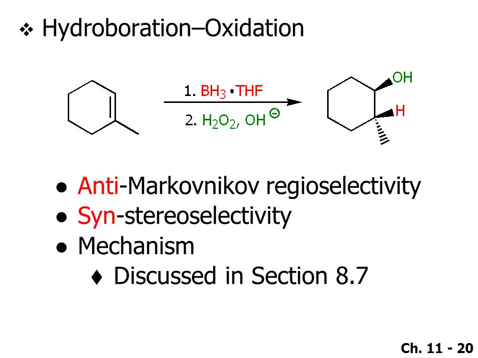 Hydroboration–Oxidation