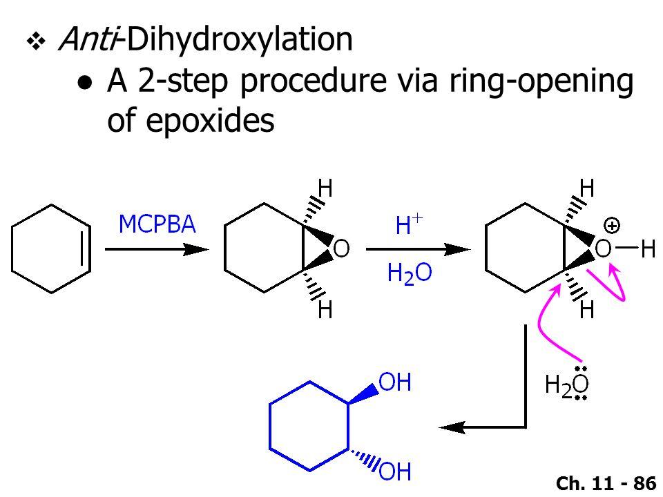 Anti-Dihydroxylation