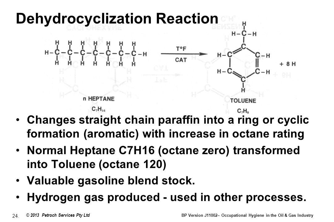 Dehydrocyclization Reaction