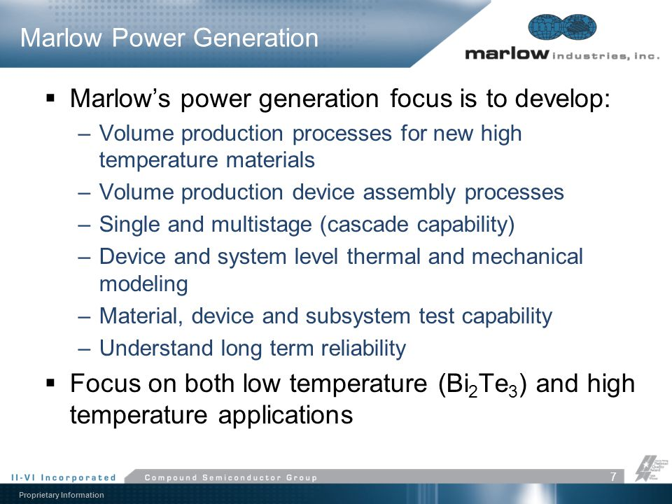 Marlow Power Generation