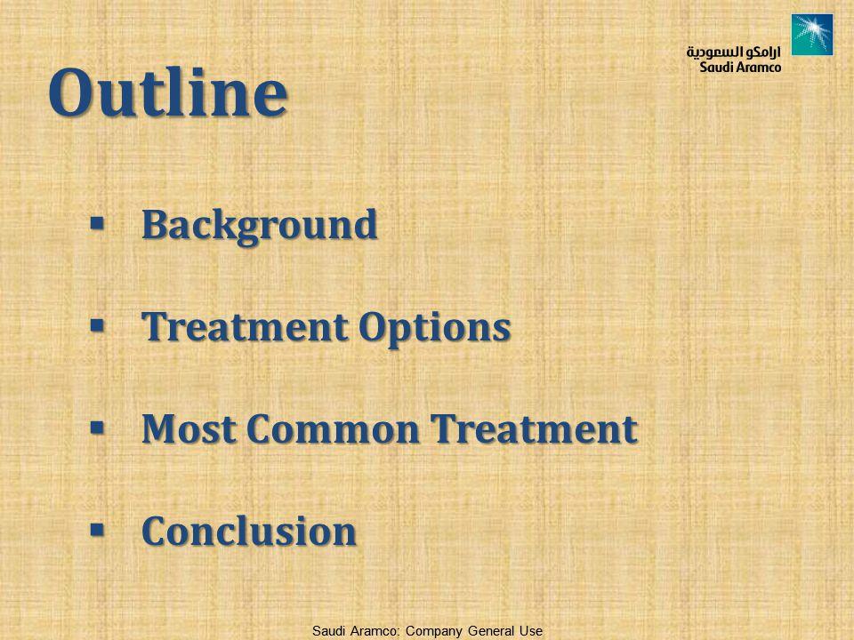 Outline Background Treatment Options Most Common Treatment Conclusion