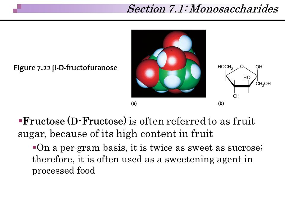 Section 7.1: Monosaccharides