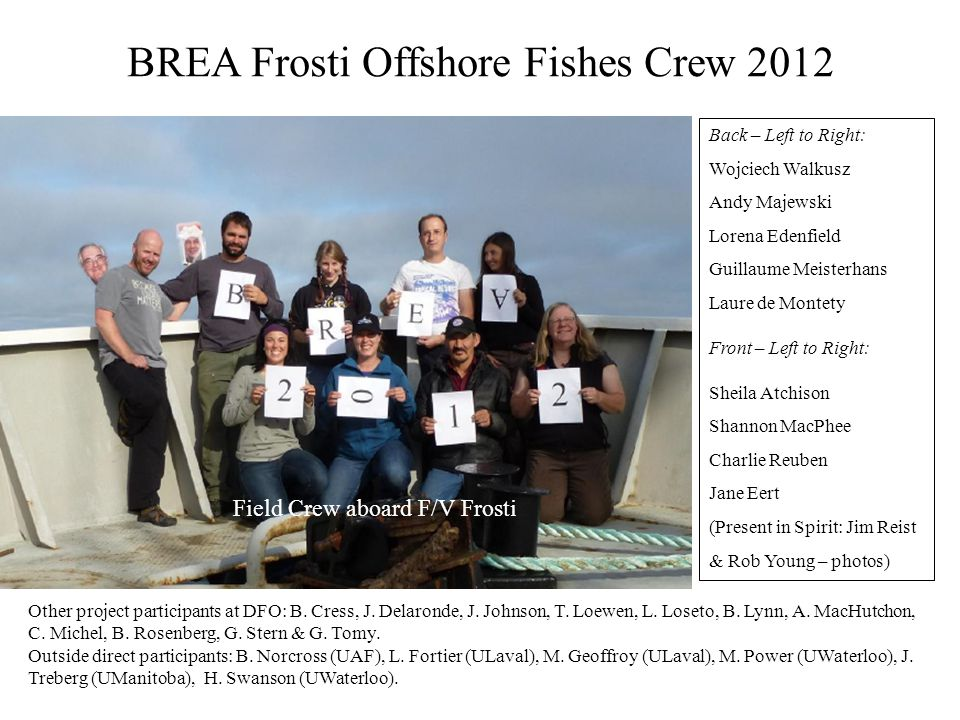 BREA Frosti Offshore Fishes Crew 2012
