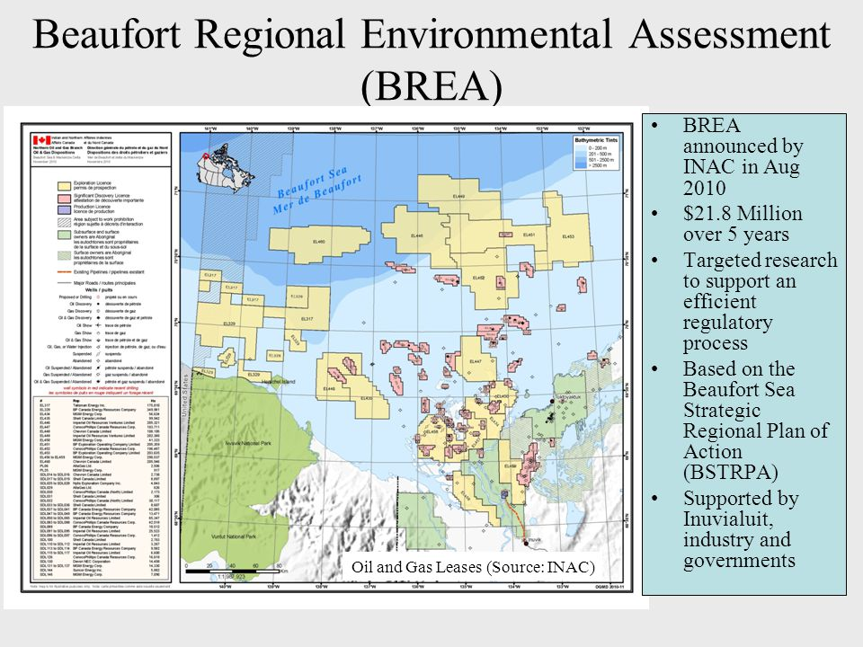 Beaufort Regional Environmental Assessment (BREA)