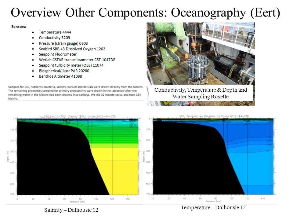 Overview Other Components: Oceanography (Eert)