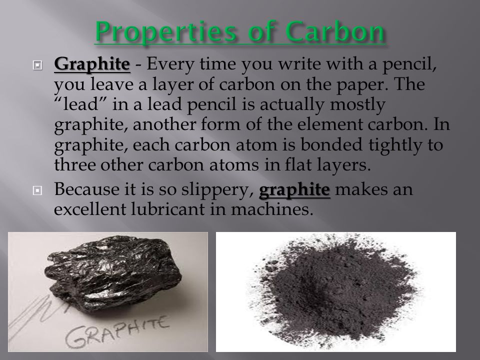 Properties of Carbon