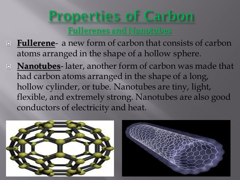 Fullerenes and Nanotubes