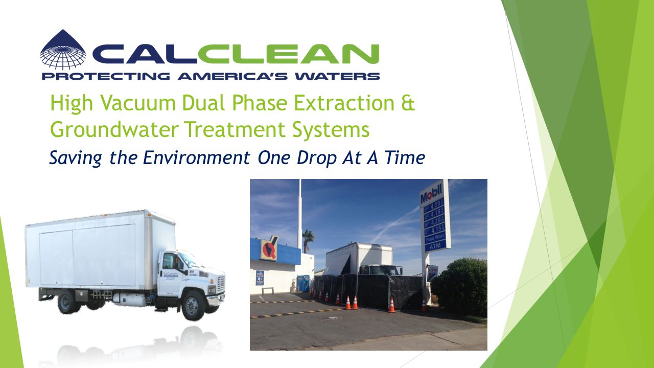 High Vacuum Dual Phase Extraction & Groundwater Treatment Systems