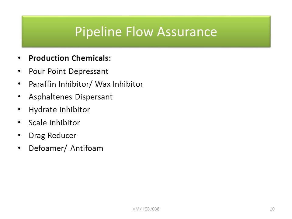 Pipeline Flow Assurance