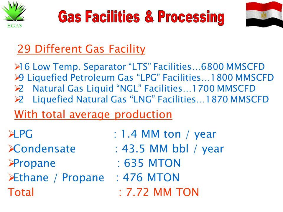 Gas Facilities & Processing