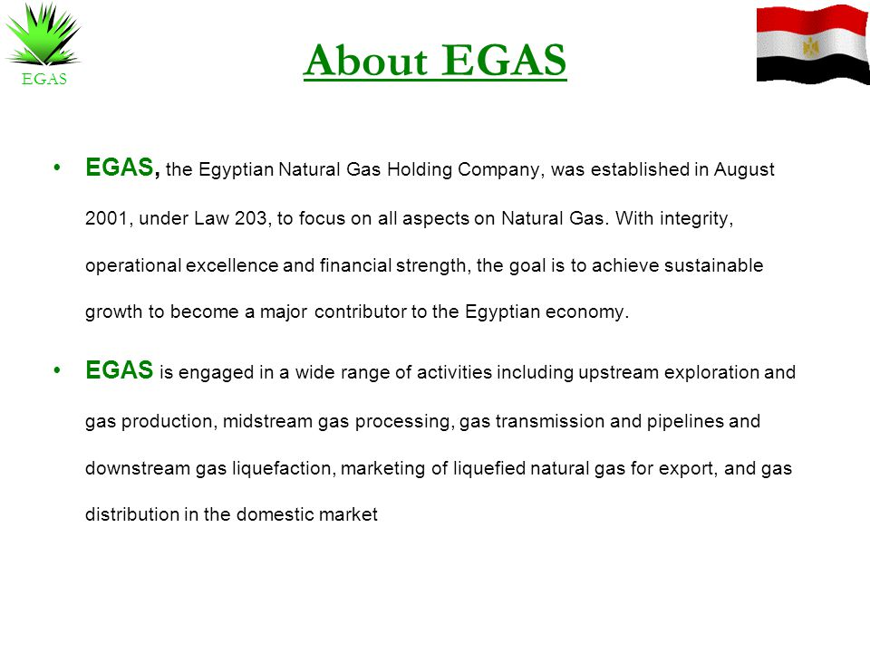 About EGAS