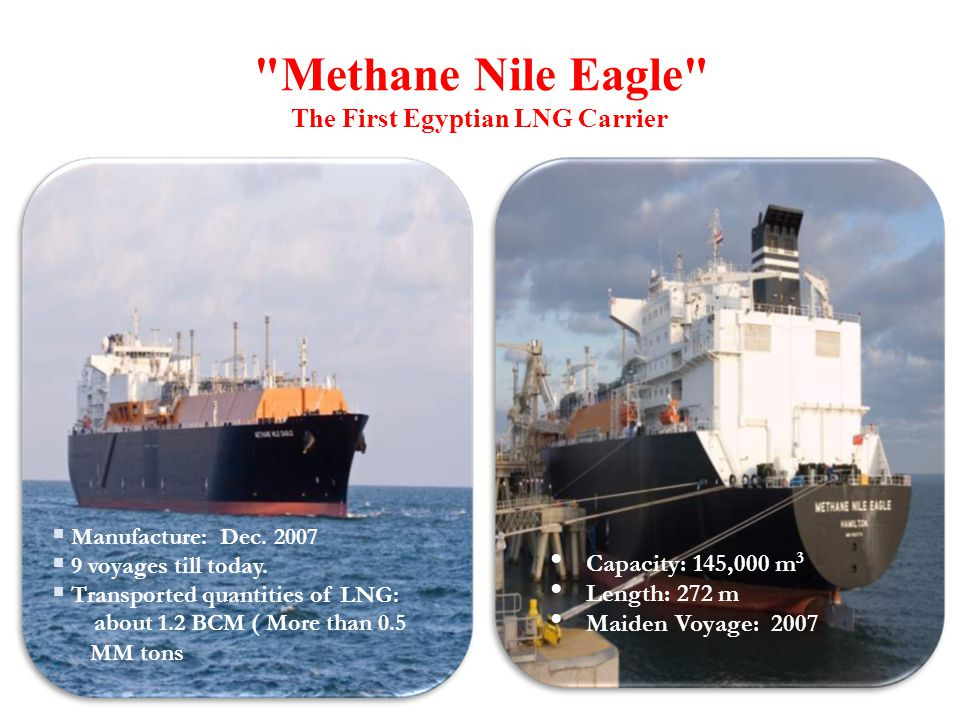 Methane Nile Eagle The First Egyptian LNG Carrier