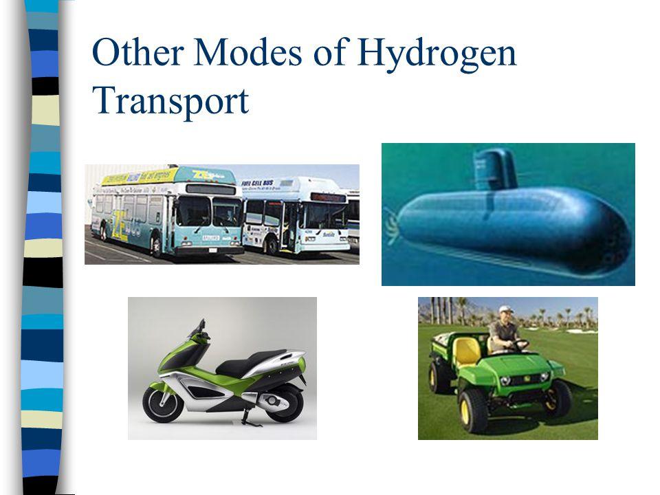 Other Modes of Hydrogen Transport