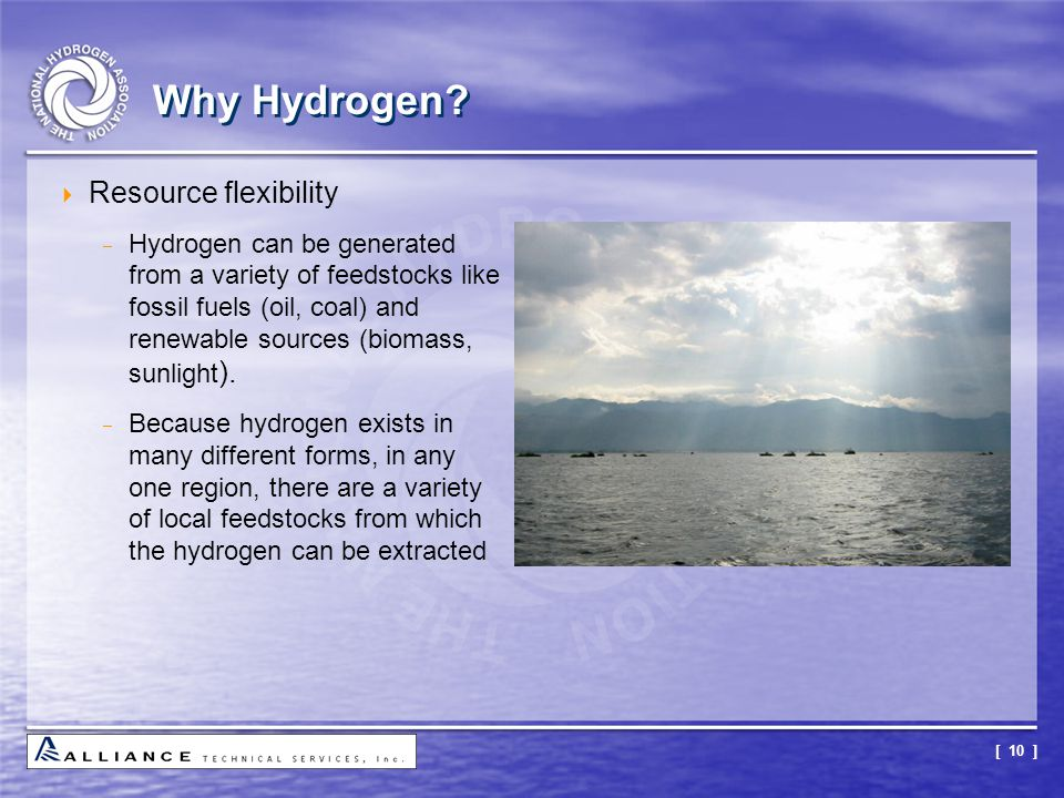 Why Hydrogen Resource flexibility